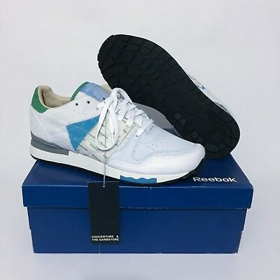 3b53bc46207 Reebok x Garbstore CL6000 Outside In Running Sneakers UK9 (White Green Blue)