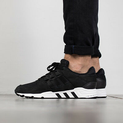 new concept 6729c 05f0b Adidas EQT Support RF Refine Mens Running Shoes Black White Leather Mesh  BB1312