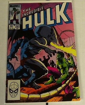 The Incredible Hulk 292 VF MInus to VF!!!