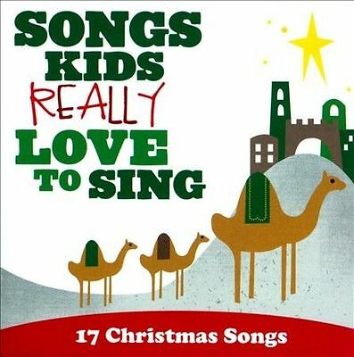 Songs Kids Really Love To Sing: 17 Christmas Songs by Various Artists (CD, Oct-2