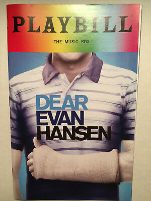 DEAR EVAN HANSEN PRIDE PLAYBILL BOOK NEW YORK BROADWAY JUNE 2018 Taylor Trensch