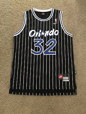 32f995cc0a40 Mens Large Vintage 1995 Shaquille O Neal Orlando Magic NBA Basketball Jersey