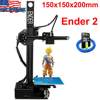 Creality 3D Printer Ender 2 3D Printer Kit DIY LCD Display 200 Mm/S 1.75mm 2018