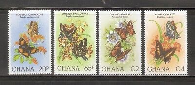 Ghana   Scott Cat.No.789-92    4p   collection stamps