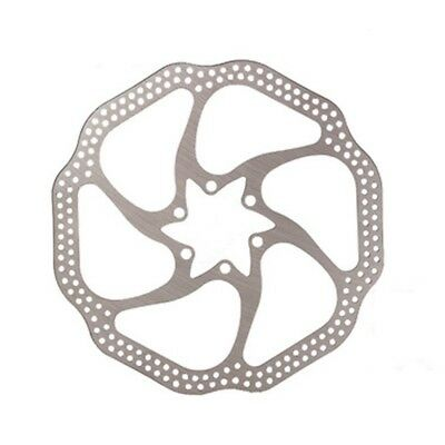 5X(Cycling Mountain Bike Brake Disc 180MM HS1 Bicycle Rotor Stainless Steel D MO