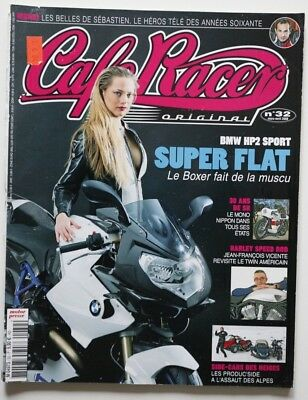 CAFE RACER Magazine 32 BMW HP2 Sport HD Speed Rod Guzzi 850 Griso - HS5006000918