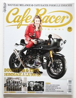 CAFE RACER Magazine 68 March 2014 DEUS Godet DUCATI 748 G-TECH - HS5006000918