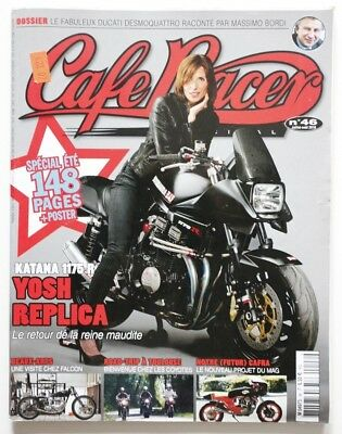 CAFE RACER Magazine 46 July 2010 Katana Falcon Ducati - French - HS6007000918
