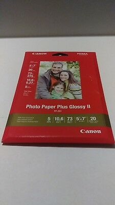 Canon Photo Paper Plus Glossy Ii 5 X 7 20 Sheets Pp 2015x720