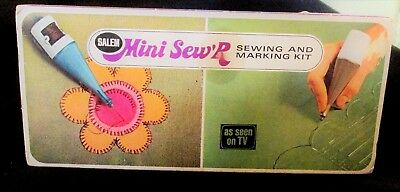 Vintage Salem Mini Sew'R Sewing & Marking Kit, As Seen on TV