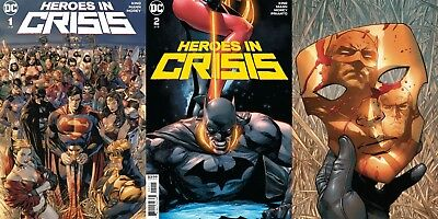 Heroes in Crisis 1 2 3 (DC 2018) DC Big Event, Batman, Superman, Wonder Woman
