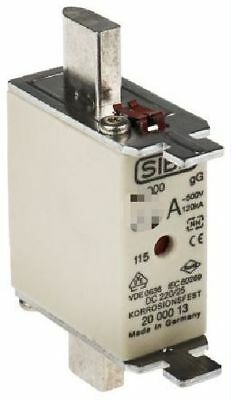 Siba Blade Fuses 80A NH000 gL/gG Combination Indicator