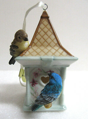 Bradford ~ PEACEFUL RETREAT ~ Home is Where the Heart Is Bird House Ornament