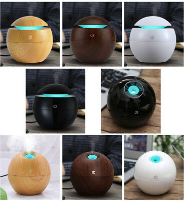 Essential Oil LED Aroma Diffuser Ultrasonic Air Humidifier Aromatherapy Purifier