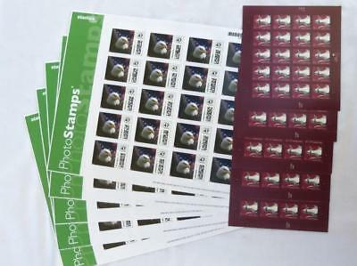 100 US Postage 50cent 2 Stamps Combo $50 Value US Flag Eagle Self Sticking