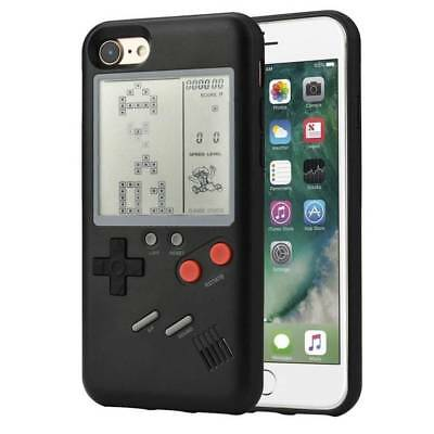 Phone Case Retro Real Game Console Play Gameboy Tetris for iPhone X 6 7 8 Plus