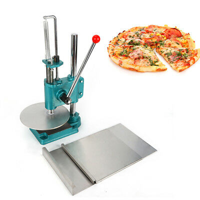 24CM Stainless Steel Household Pizza Dough Pastry Manual Press Machine USA STOCK