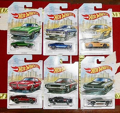 Hot wheels Detroit Muscle complete set of 6