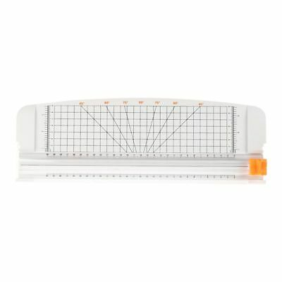 """JIELISI 12"""" A4 Paper Cutter Trimmer White with Multi-function Automatic Sec P4B1"""