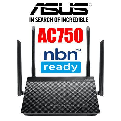 Asus DSL-AC52U AC750 Dual Band Wireless Gigabit ADSL2+ / VDSL Modem Router