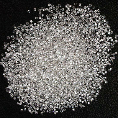 Natural Loose Diamonds Round 50 Pcs Lot I1-I3 Clarity G-H White Color 100% Real