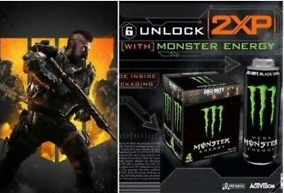 BLACK OPS 4 COD DOUBLE XP CODE 30 MINS x10=300 MINS, FAST DELIVERY XBOX/PC/PS4
