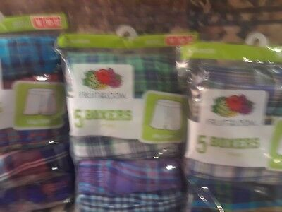 Fruit of the Loom Boys Boxers 5 pack