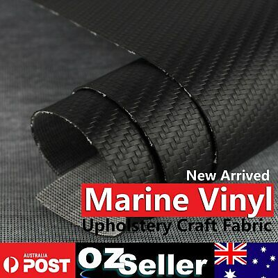 Auto Carbon Fiber Upholstery Marine Grade Vinyl Craft PU Leather Fabric Material