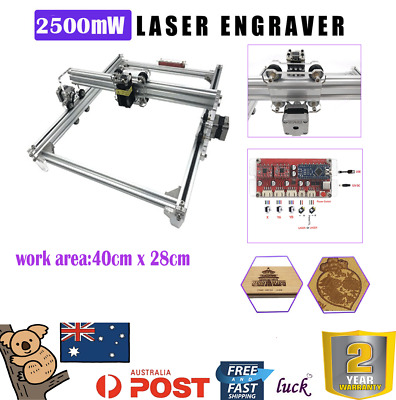 2500mW USB Port CNC Laser Engraving Engraver Cutter Carved Logo Printer Machine