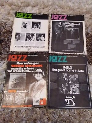 4 X Jazz Journal Magazines Vol 2, 4, 7 & 9 (1976)