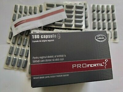 Profertil woman / male fertility supplements 56/60/180 capsules Lenus Pharma