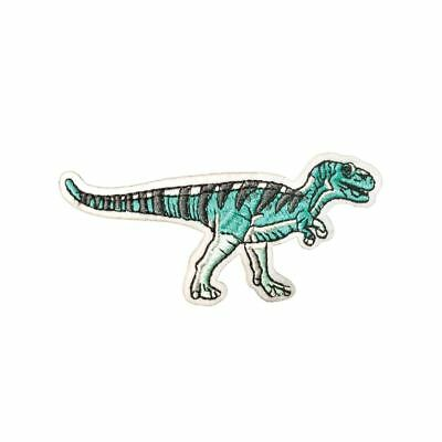 Coelophysis Dinosaur (Iron On) Embroidery Applique Patch Sew Iron Badge