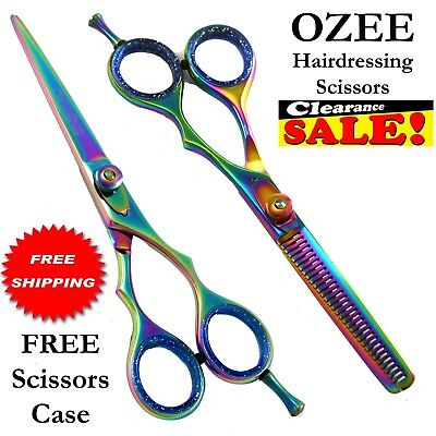 "Professional Barber Hairdressing Scissors And Thinning 6.0"" In JAPANESE STEEL"