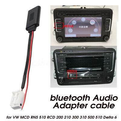 Bluetooth Audio Adapter Cable For VW MCD RNS 510 RCD 200 210 310 500 510 Delta 6