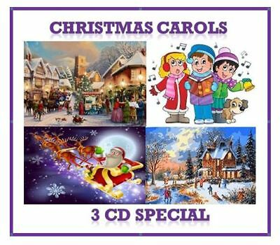 🎅 Christmas Carols & Hymns 🎄 3 CD Pack ⛪ xmas songs carols children choirs