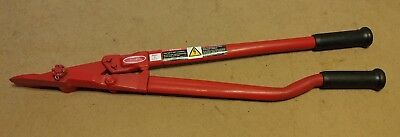"""Strapping Cutter, Up To 2"""" Strap Cutting Capacity, H.K. Porter 2690GP BRAND NEW!"""