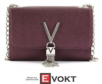 cf88bdd65cab8 VALENTINO Marilyn Clutch S Clutch Evening Bag Bordeaux Purple New Perfect  Gift