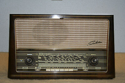 SABA WILDBAD 9 , german vintage tube radio, built 1958 , restored !