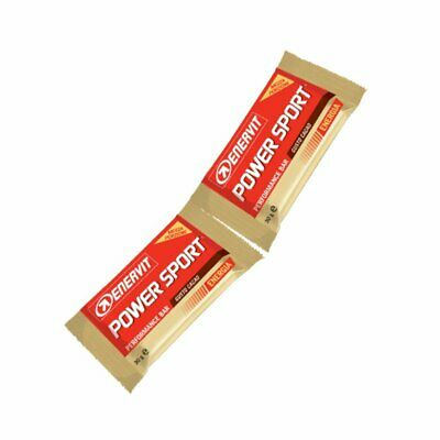 ENERVIT Sport Performance Bar Double Box 28 Barrette Energetiche 2 porzioni