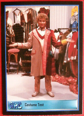 DEFINITIVE DOCTOR WHO Series 2 - Promo Card PH-1 COSTUME TEST Strictly Ink 2001