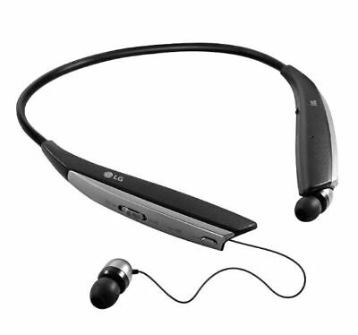 LG TONE ULTRA+ HBS-820S Wireless In-Ear Behind-the-Neck -1 side doesn't track