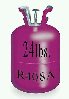 R408A Refrigerant, 24 Lb, Local Pick Up Only, Brand new, sealed cap in box