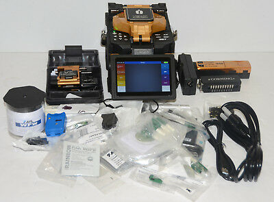 INNO View 12R SM MM Fiber Ribbon Fusion Splicer w/v7 Cleaver 45 Arcs