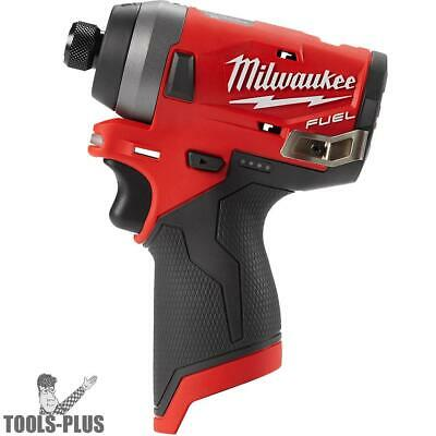 "Milwaukee 2553-20 M12 FUEL 1/4"" Hex Impact Driver (Tool Only) New"