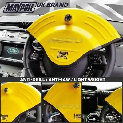 Maypole MP5494 Car 4x4 Anti Theft High Security Disc Type Steering Wheel Lock