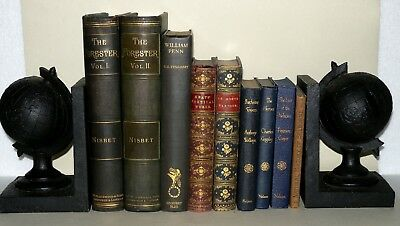 9 Various Hardback Books, Perfect for Display - Wedding Decoration, Resale etc.