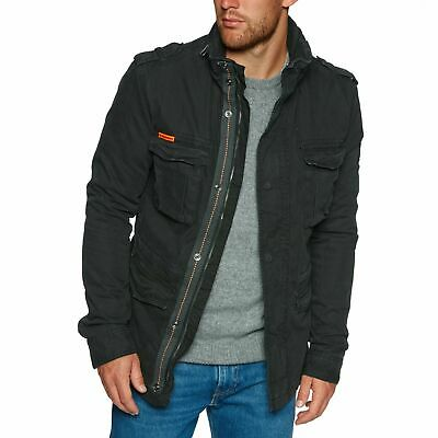 SUPERDRY CLASSIC ROOKIE Military Parka Mens Jacket Bitter