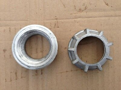 Exhaust pipe nuts for motorcycle DNEPR, MB650, K650. Set = 2 items.