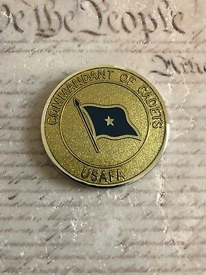 Commandant of Cadets US Air Force Academy USAFA Challenge Coin