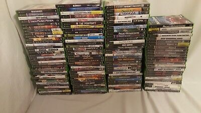 XBOX WHOLESALE LOT OF.    127. Used RUSH SHIPPING.